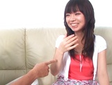 Superb sex scenes with amateur Asian brunette, Anna Oguri