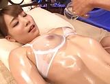 Cute Rui Hasegawa loves having a tit fuck picture 15