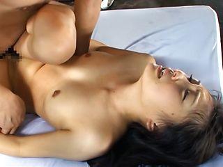Exquisite Japanese milf Runa Mochizaki enjoys hardcore pounding