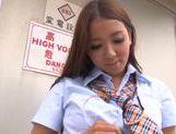 Masturbation with filthy Asian babe Ayaka Tomoda