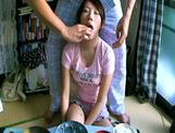 Lala Suzumiya Japanese model sucks cock in the kitchen after dinneryoung asian, japanese pussy}