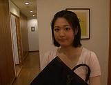 Erina Nagasawa Asian mature wife enjoys hubby