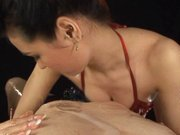 Maria Ozawa Asian doll is enjoying rubbing and sucking a cock