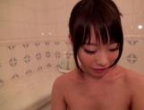 Hot Tokyo babe, Misuzu Kawana, sucks and fucks in the bathroom