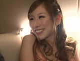 Glamorous Japanese bombshell Erika Kitagawa gets her pussy creamed picture 10
