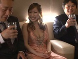 Glamorous Japanese bombshell Erika Kitagawa gets her pussy creamed picture 5