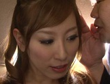 Glamorous Japanese bombshell Erika Kitagawa gets her pussy creamed picture 7