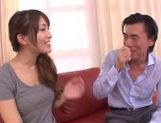 Hot milf chick Kokomi Sakura cock sucking and doggy style