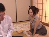 Horny milf Yukina Momota likes to tease cock picture 10