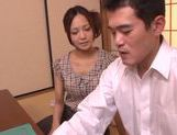 Horny milf Yukina Momota likes to tease cock picture 12