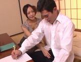 Horny milf Yukina Momota likes to tease cock picture 15