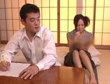 Horny milf Yukina Momota likes to tease cock picture 2