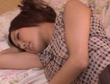 Horny milf Yukina Momota likes to tease cock picture 6