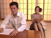 Horny milf Yukina Momota likes to tease cock