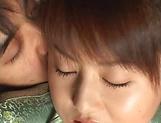 Akiho Yoshizawa, sexy Asian milf gets hardcore cumshot