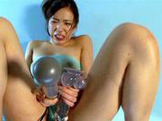 Amazing Asian solo girl Reira Maki teases her pink pussyhot asian pussy, cute asian}