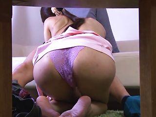 Hot mature woman Ichika Kanhata gives a deep blowjob