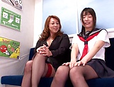 Yumi Kazama gets fucked by a sexy milf picture 11