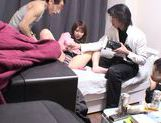 Young Yua Kiasaki enjoys having hardcore group sex picture 12