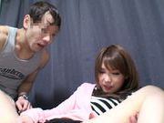 Young Yua Kiasaki enjoys having hardcore group sex