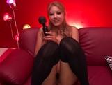 Facial ends Arisa Takimoto's filthy Asian porn show in POV picture 12