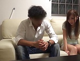 Shy looking Asian babe gets seduced for sex