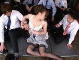 Aiko Hirose Japanese babe mastubates before riding cock