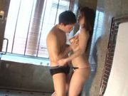 Milf with big tits Yua Kuramochi enjoys intensive shagging