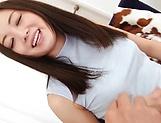 Hottie Yuu Shiraishi feels huge fresh cumshots picture 14