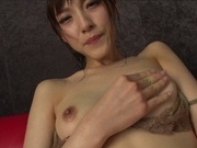 Beautiful amateur milf Kanako Iioka gets her pussy stretched and fingeredasian babe, asian pussy}