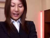 Sexy female teacher Yui Tatsumi gets banged hard by her boss picture 7