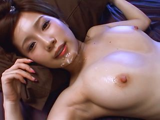 Minami Kojima enjoys a sensual threesome