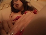 Very attractive Hagiwara Mai gets banged hard.