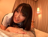 Nana Usami superb Japanese amateur POV sex picture 1