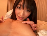 Nana Usami superb Japanese amateur POV sex picture 5