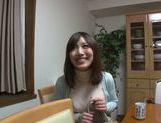 Savory Asian housewife Saki Mizumi engulfs and swallows