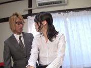 Sexy and horny Kaede Niiyama enjoys a hard cock