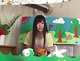 Arousing Japanese porn scenes with hot teen Ayaka Kuriyama picture 15