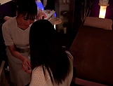 Massage turns naughty for two horny Japanese babes