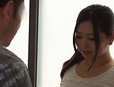 Inviting beauty Ayaka Yuuko sucking dick lustily