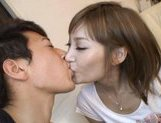 Kirara Asuka Asian doll is fucked by two horny guys picture 8