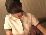 Lovely sensually Aai Yuzuki seduces a dude