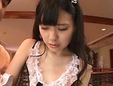 Yuma Kouda gives her dude a sensual hanwork picture 12