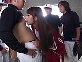 Gorgeous babe Miina Arimura enjoys a creamy facial