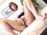Sara Saijou has mad love for her sex toys picture 3