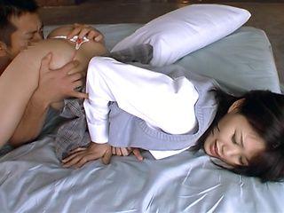 Tsukasa Aoi erotically teased indoors