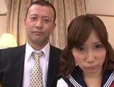 Sweet and horny chick Minami Kojima rides on cock picture 13