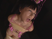 Shaved pussy of Asian babe Marie Konishi is drilledasian anal, japanese sex}