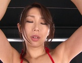 Charming Shinoda Ayumi bounces ass on stiff toy picture 13