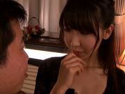 Sexy Asian stunner Chibana Meisa gets screwed and creamed